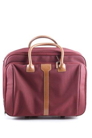 Samsonite Valigia rosa-marrone stile casual