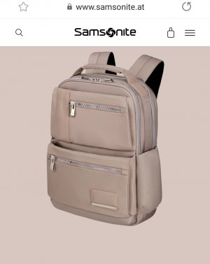 Samsonite Sac à dos pour ordinateur portable rosé