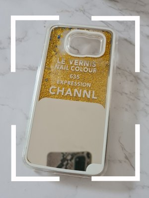 keine Hoesje voor mobiele telefoons zilver-goud