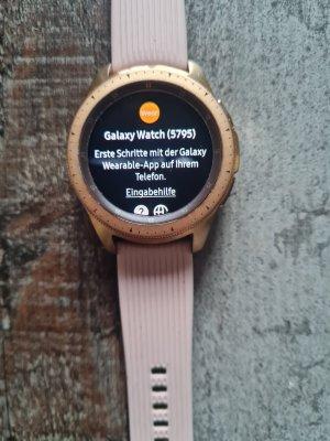 Samsung Reloj digital color rosa dorado