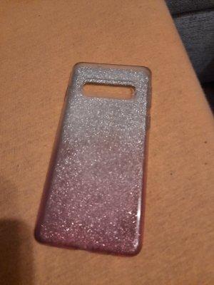 Hoesje voor mobiele telefoons zilver-roségoud