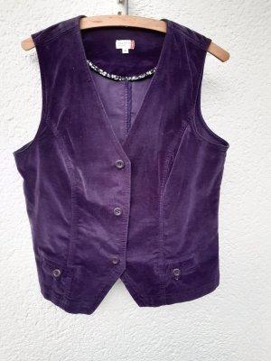 NKD Boléro violet foncé coton