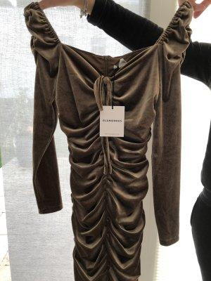 samt braunes Kleid  Neu mit Etikett