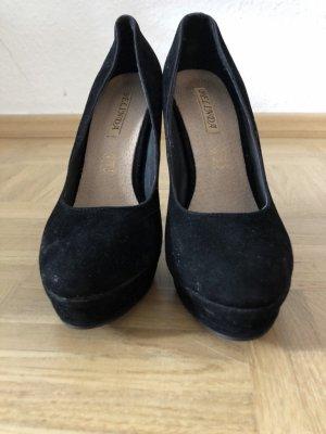 Samt high Heels