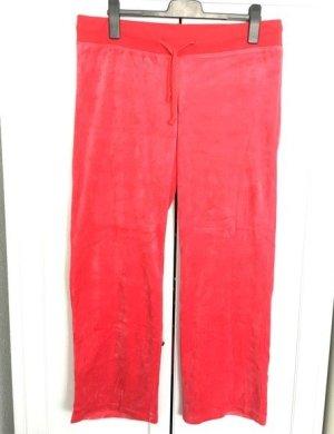 Samt-Hose Homewear Gr. 44 - korallenrot