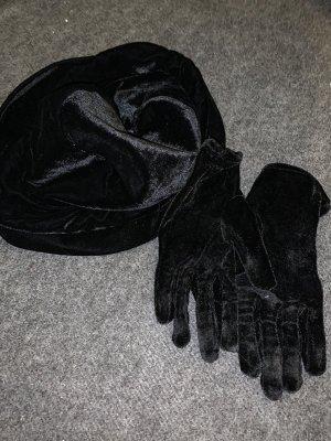 Chapeau cloche noir