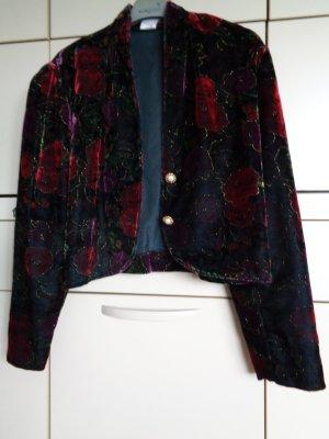 Vintage Veste bavaroise multicolore tissu mixte