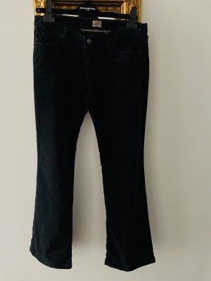 Julie Stretch Jeans black velvet