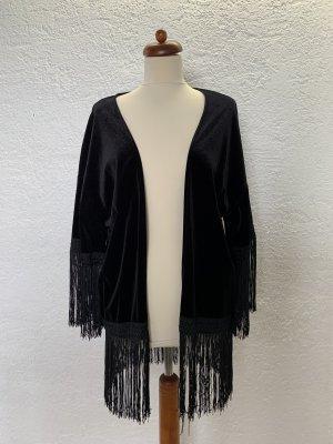 Mango Kimono Blouse black
