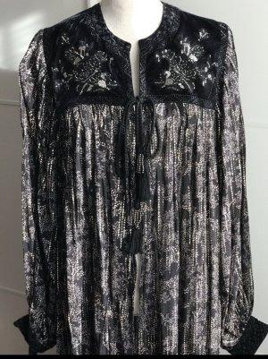 Samt Kimono von Zara