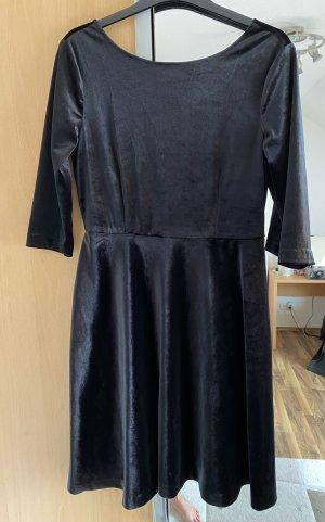 edc by Esprit Sukienka z baskinką czarny