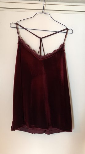 Abercrombie & Fitch Strappy Top bordeaux