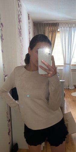 Zara Lange jumper room-licht beige