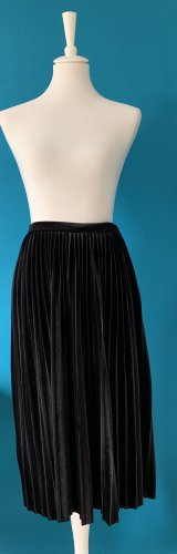 Mango Pleated Skirt black