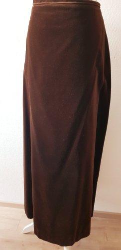 Maxi Skirt brown-cognac-coloured