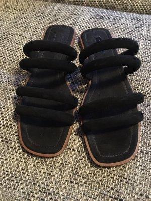 Topshop Sandalen met bandjes zwart