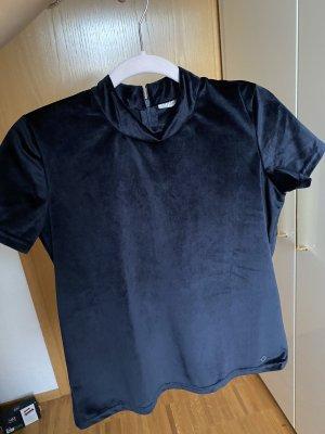 Nümph Shirt basique bleu foncé