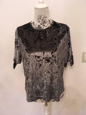 Samt Shirt, Gr38/M, neu
