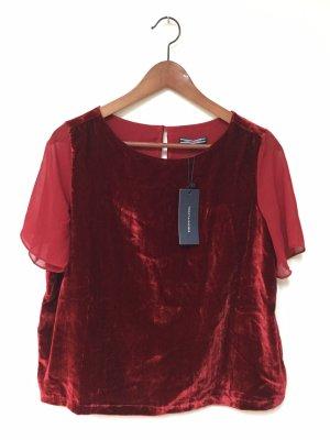 Tommy Hilfiger T-shirt bordeau-rouge carmin