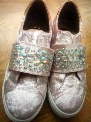Claudia Ghizzani Hook-and-loop fastener Sneakers pink