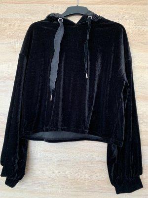 Samt Sweatshirt