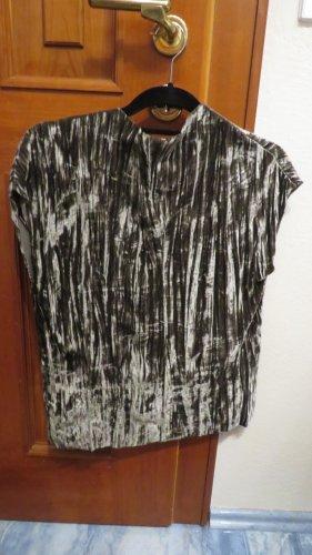 Samt T-Shirt Zara