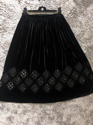 Massimo Dutti Maxi Skirt black
