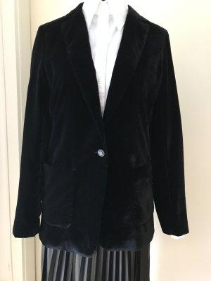 Set Blazer de esmoquin negro Viscosa
