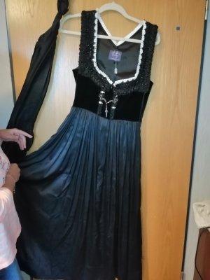 Samtherz Vestido Dirndl negro