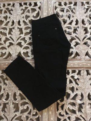 Benetton Jersey Pants black cotton