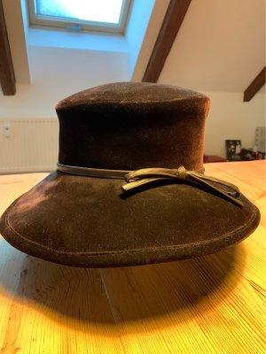 Traditional Hat dark brown