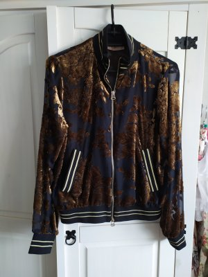Twinset Bomber Jacket black-bronze-colored