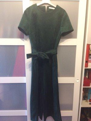 Mango Jumpsuit dark green