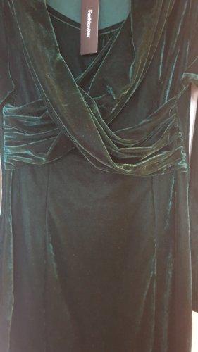 Fashion Mia Abito elasticizzato verde scuro