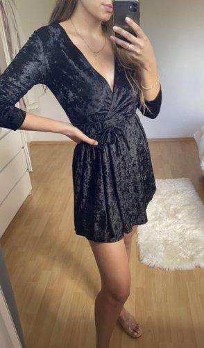 Oscar B. Kopertowa sukienka czarny