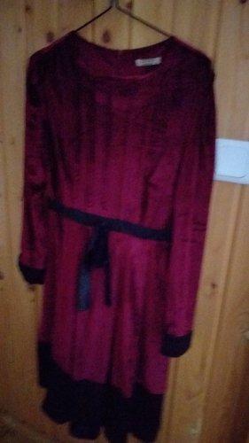 Empire Dress purple-bordeaux
