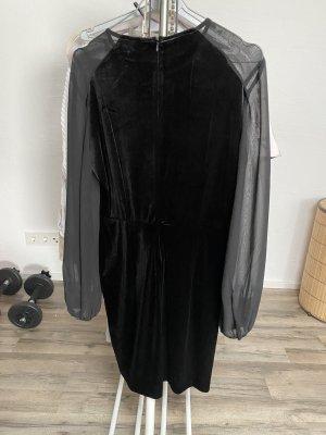 Samtkleid Zara
