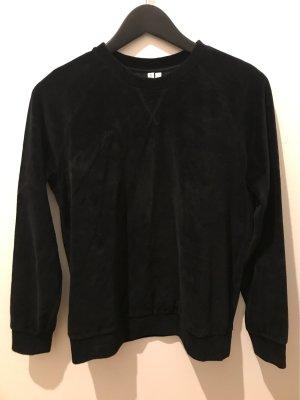 AndOtherStories Kraagloze sweater zwart