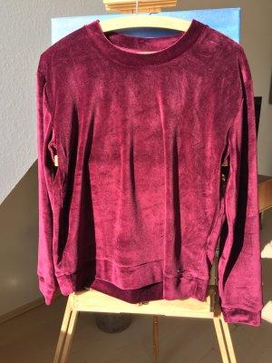 Samtpullover/Pullover