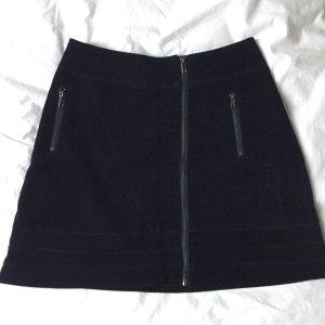 Reserved Mini rok donkerblauw