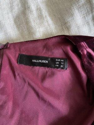 Hallhuber A Line Dress bordeaux