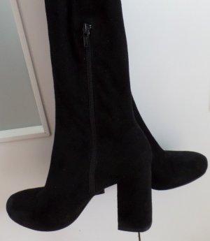 Zara Basic Overknees black