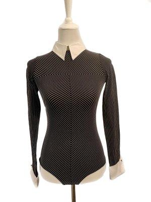 Wolford Bodysuit Blouse black-white