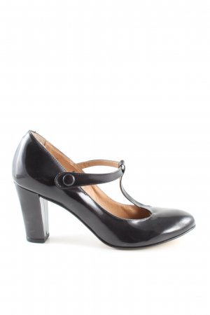 San Marina Mary Jane Pumps schwarz Business-Look