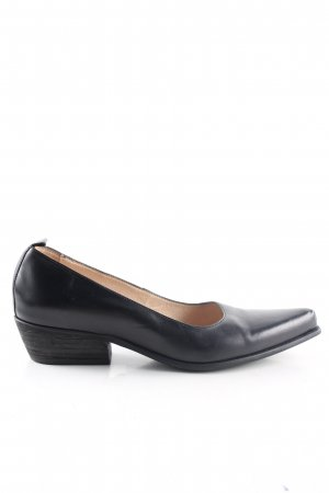 San Marina Spitz-Pumps schwarz Business-Look