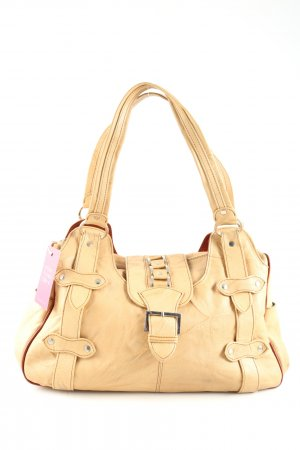 san peter Handtasche creme Business-Look