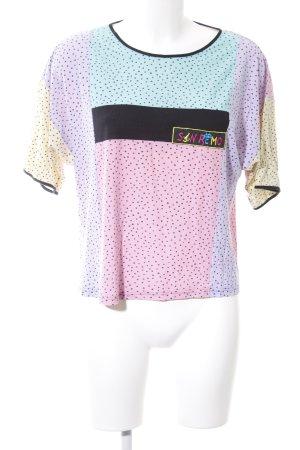 San Remo T-Shirt Motivdruck Casual-Look