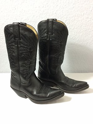 Sancho Western Boots black leather