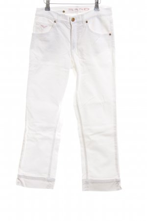 Sand Capris white casual look