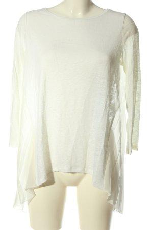 Sand Copenhagen Lniana bluzka biały W stylu casual
